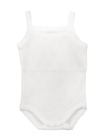 Body bebe calado tiranta fina - Babidu 200 Blanco
