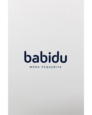BODY CON CUELLO BATISTA MANGA LARGA - BABIDU 200 Blanco