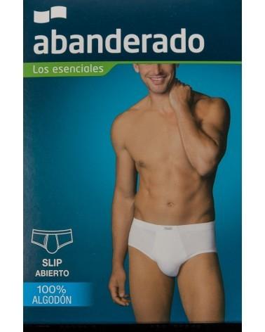 SLIP CABALLERO 100% ALGODON ABANDERADO 200 Blanco